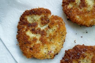 Mascarpone Potato Pancakes