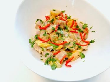 Creamy Tuna Ceviche