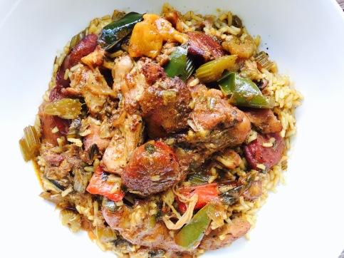 Chicken & Andouille Sausage Jambalaya