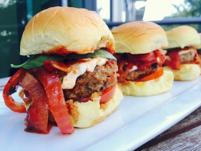 Meatball Sliders with Caramelized Marsala Onions