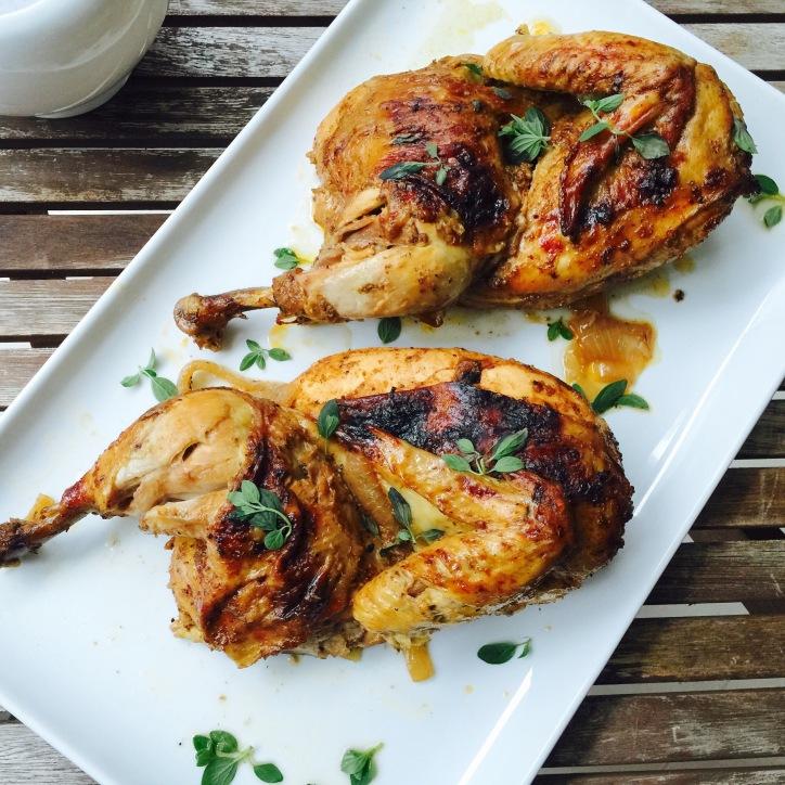 Garam Masala Roast Chicken